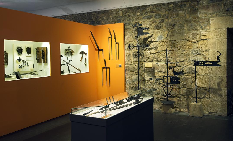 Sala Ferrería de Lebario © Euskal Museoa Bilbao
