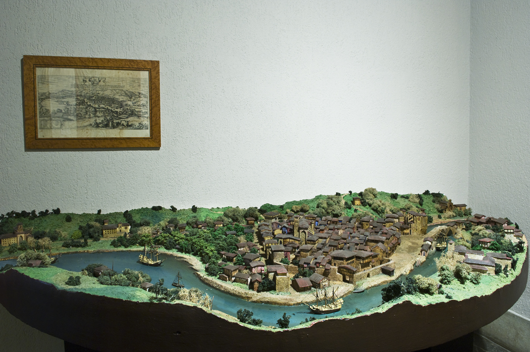 Bilboko Uria XVI mendean © Euskal Museoa Bilbao Museo Vasco