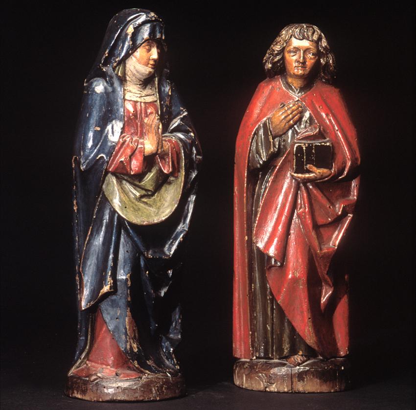 Taila polikromatuak. Bizkaia, XVI © Euskal Museoa Bilbao Museo Vasco
